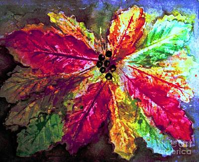 Painting - Highlighting Fall Splendor by Hazel Holland