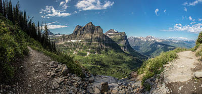 Photograph - Highline Trail Glacier National Park  by John McGraw