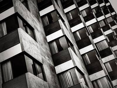 Photograph - High-rise Geometry by Mark David Gerson
