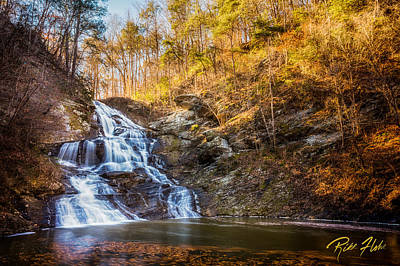 Photograph - Hightower Falls by Rikk Flohr