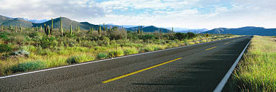 Baja Photograph - Highway 1 Baja Trans-peninsula Highway by Panoramic Images