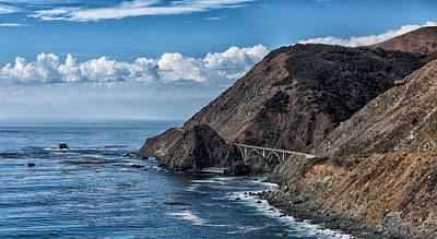 Photograph - Highway 1 Bridge by John Johnson