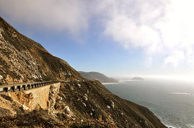 Famous Highway 1 In California Photograph - Highway #1 by Lisa Elliott