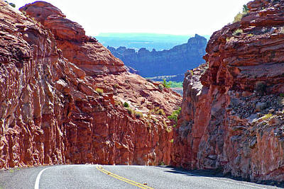 Photograph - Highway 12 Scenic Byway In Grand Staircase-escalante National Monument, Utah by Ruth Hager