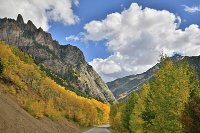 Photograph - Highway 145 Colorado by Ray Mathis