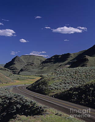 Photograph - Highway 19 Central Oregon by Jim Corwin