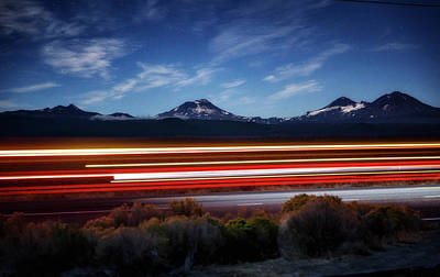 Photograph - Highway 20 by Cat Connor