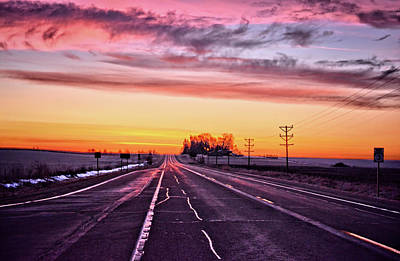 Photograph - Highway 3 by Bonfire Photography