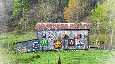 Photograph - Highway 64 Barn by Joe Duket