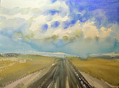 Painting - Highway by Lynne Haines