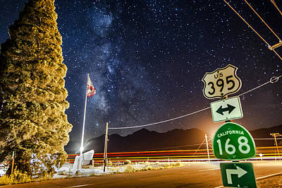 Photograph - Highway Of Stars by Cat Connor