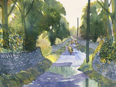 Painting - Highway Patrol by Glenn Marshall
