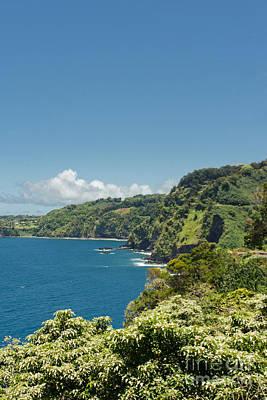 Photograph - Highway To Heaven Hana Highway Maui Hawaii by Sharon Mau