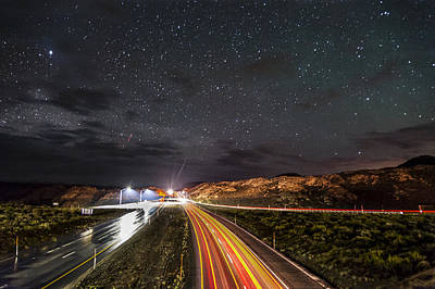 Photograph - Highway To The Stars by Cat Connor