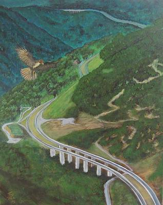 Painting - Highway by Tony Rodriguez
