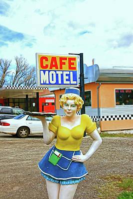 Photograph - Highway Waitress # 2 by Allen Beatty