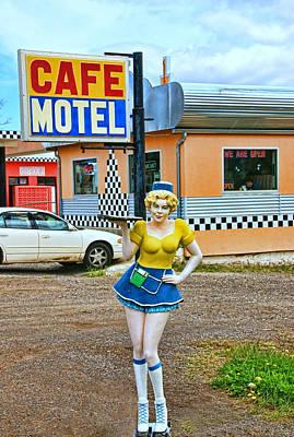 Photograph - Highway Waitress by Allen Beatty