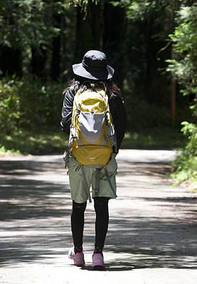 Photograph - Hiker by Masami Iida