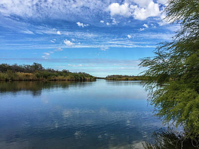 Photograph - Hiking Along The Rio Grande In South Texas by Debra Martz