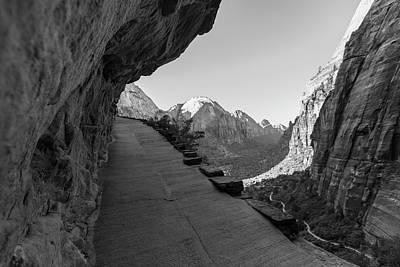 Photograph - Hiking Angels Landing  by John McGraw