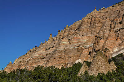 Photograph - Hiking At Tent Rocks - New Mexico #3 by Stuart Litoff