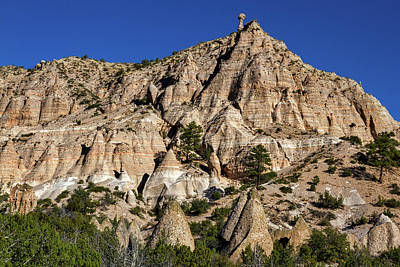 Photograph - Hiking At Tent Rocks - New Mexico #4 by Stuart Litoff