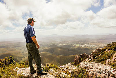 Climbing Photograph - Hiking Australia by Jorgo Photography - Wall Art Gallery