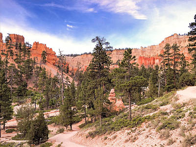 Photograph - Hiking Bryce Canyon by Robert Meyers-Lussier