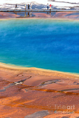 Photograph - Hiking By A Sea Of Blue by Adam Jewell