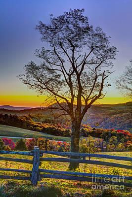 Photograph - Hiking In Autumn by Dan Carmichael