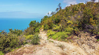 Photograph - Hiking In Cinque Terre Italy IIi by Joan Carroll