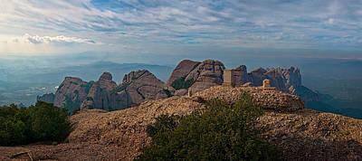 Photograph - Hiking In Montserrat Spain by Joan Carroll