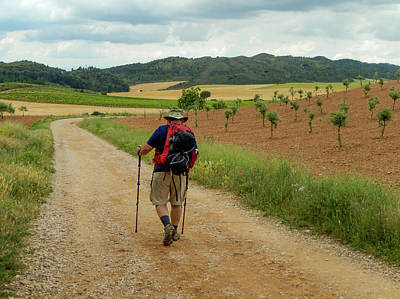 Photograph - Hiking In Rioja by Mike Shaw