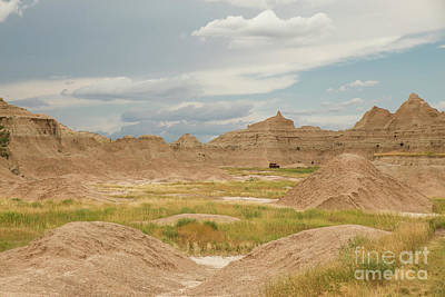 Nikki Vig Royalty-Free and Rights-Managed Images - Hiking in the Badlands by Nikki Vig