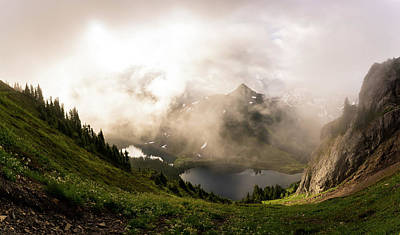 Photograph - Hiking In The North Cascades National Park by Serge Skiba
