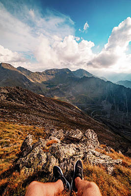 Photograph - Hiking Pov by Chris Thodd