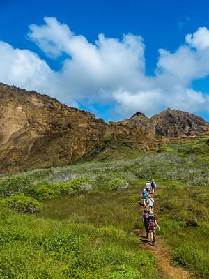 Photograph - Hiking Punta Pitt by Harry Strharsky