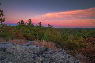 Photograph - Hiking Sunset by Brian MacLean