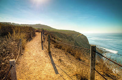 Photograph - Hiking The Cliff by R Scott Duncan