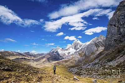 Photograph - Hiking The Huayhuash by Olivier Steiner