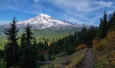 Photograph - Hiking The Trail by Lynn Hopwood