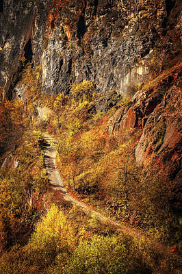 Photograph - Hiking Trail In Canyon. Velka America by Jenny Rainbow