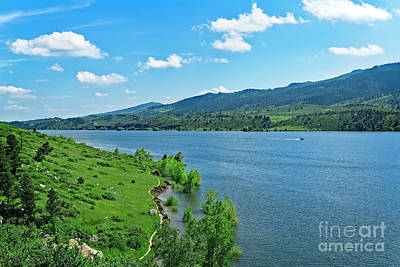 Horsetooth Reservoir Photograph - Hiking Trail by Jon Burch Photography