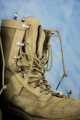 Photograph - Hiking Up A Boot by Tammy Ray
