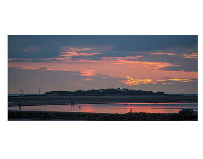 Photograph - Hilbre Island Sunset by Spikey Mouse Photography