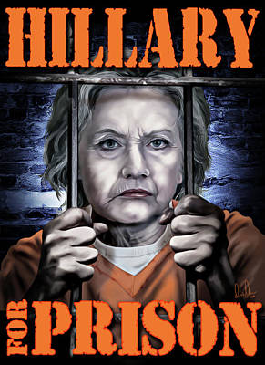 Hillary Clinton Photograph - Hildabeast by Don Olea