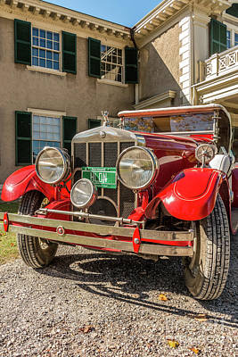 Photograph - 1928 Franklin Roadster by Mim White