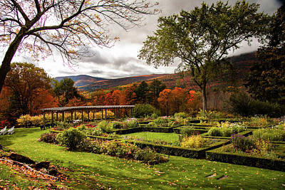 Politicians Royalty-Free and Rights-Managed Images - Hildene in autumn by Jeff Folger