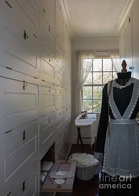 Photograph - Hildene Linen Closet by Mim White