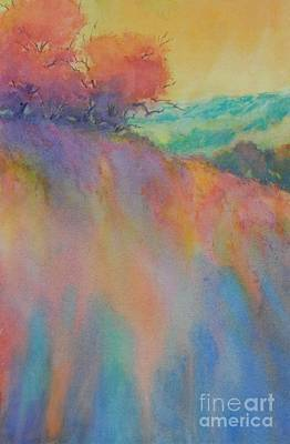 Hill Country Abstract No 10 Art Print by Virgil Carter